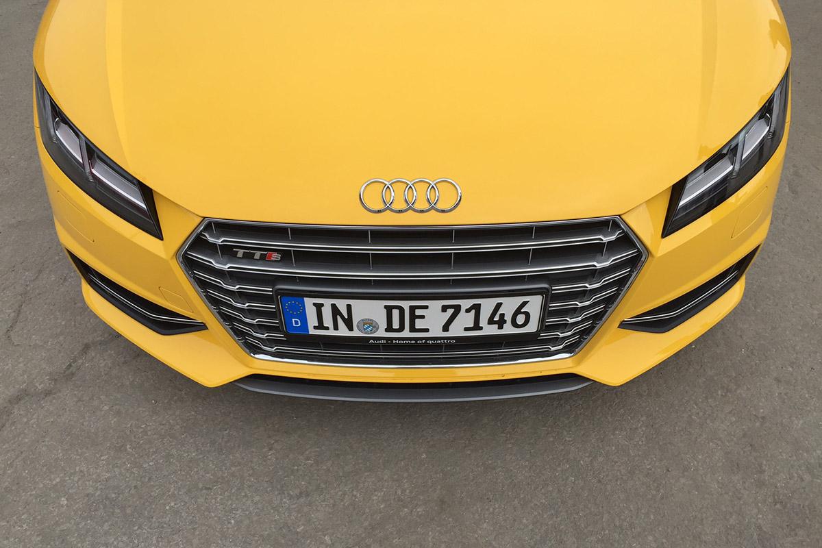 Une heure pour un essai : Audi TTS 2015