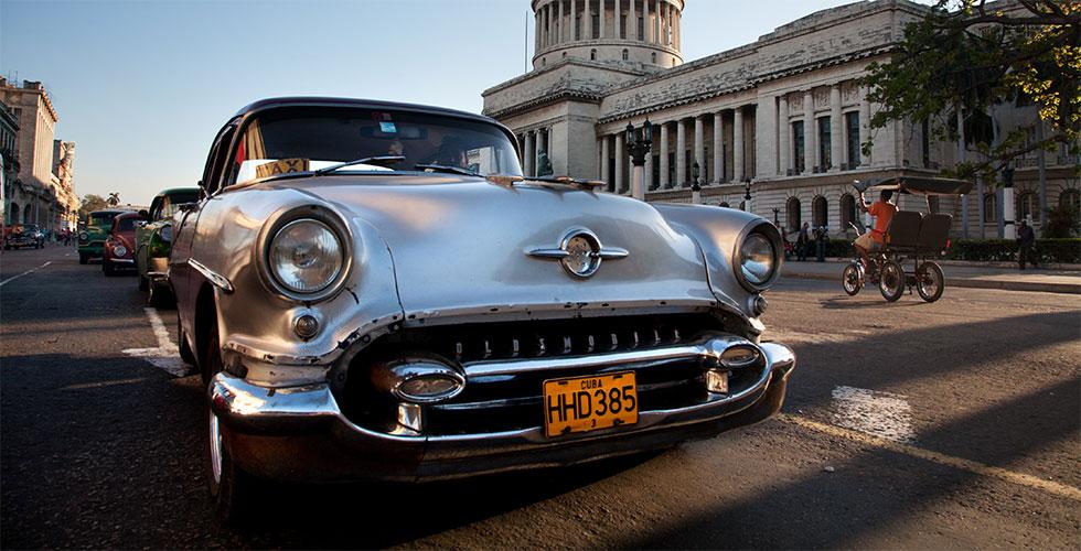 Dans les rues de Cuba