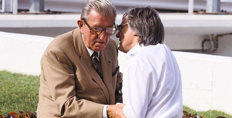 Jean-Marie Balestre, l'ennemi intime de Bernie Ecclestone
