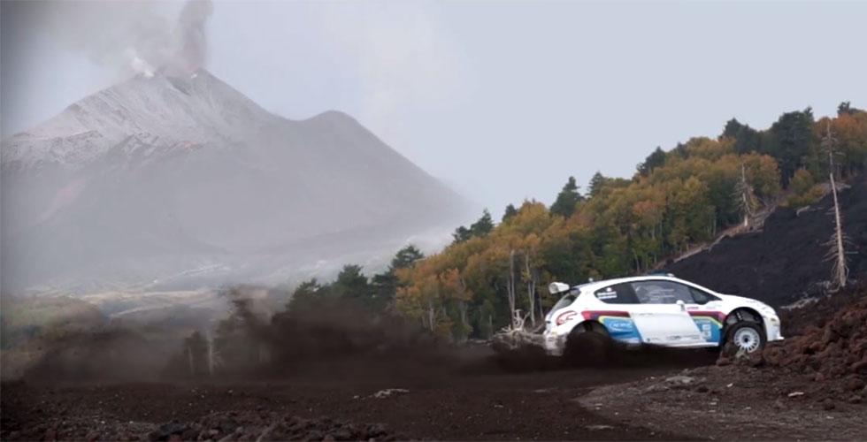 Peugeot affronte l'Etna !