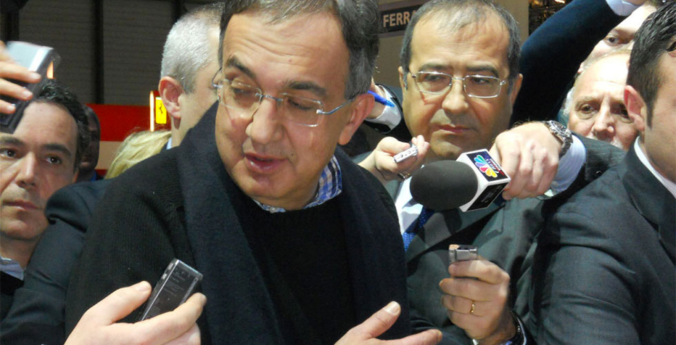 Sergio Marchionne parle (beaucoup)