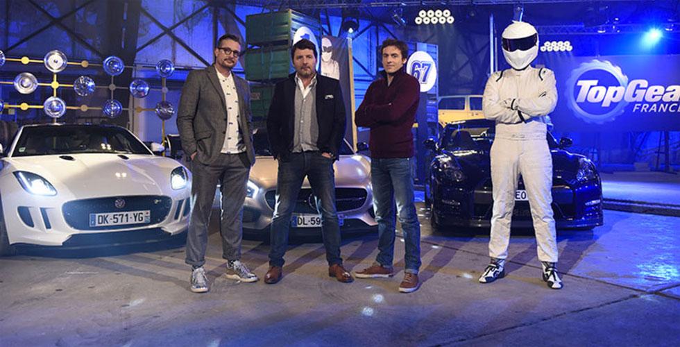 Chute d'audience pour Top Gear France