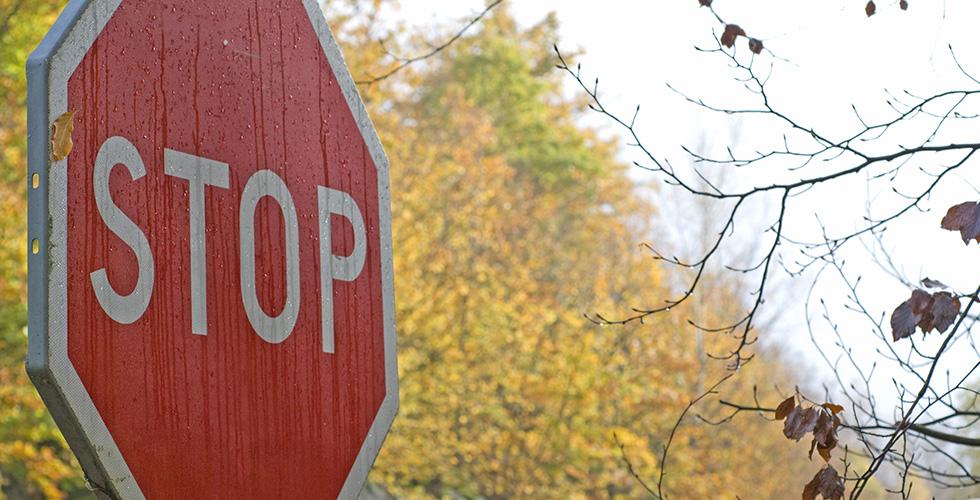 L'unique panneau STOP de Paris