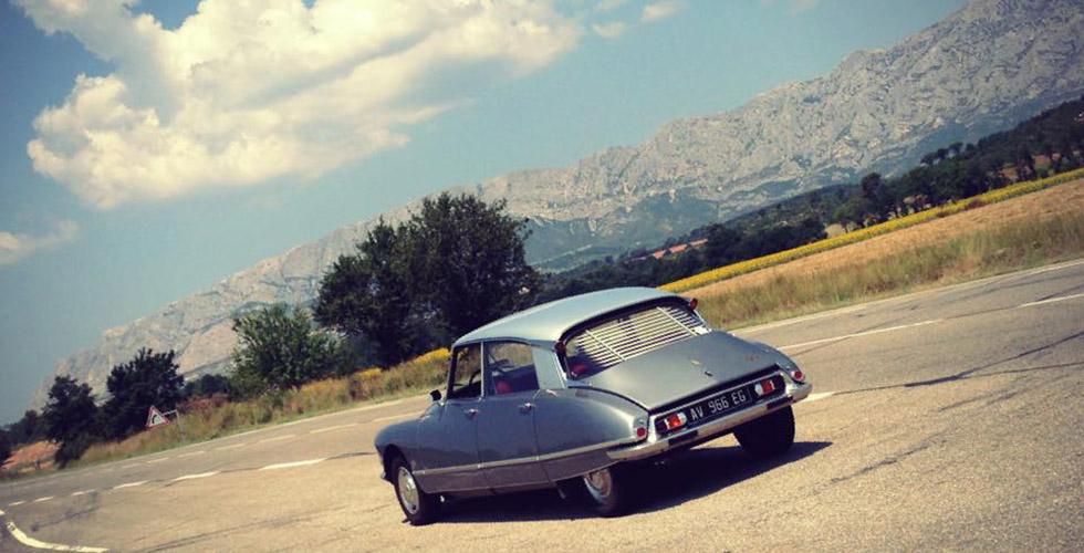 La Nationale 7 en Citroën DS