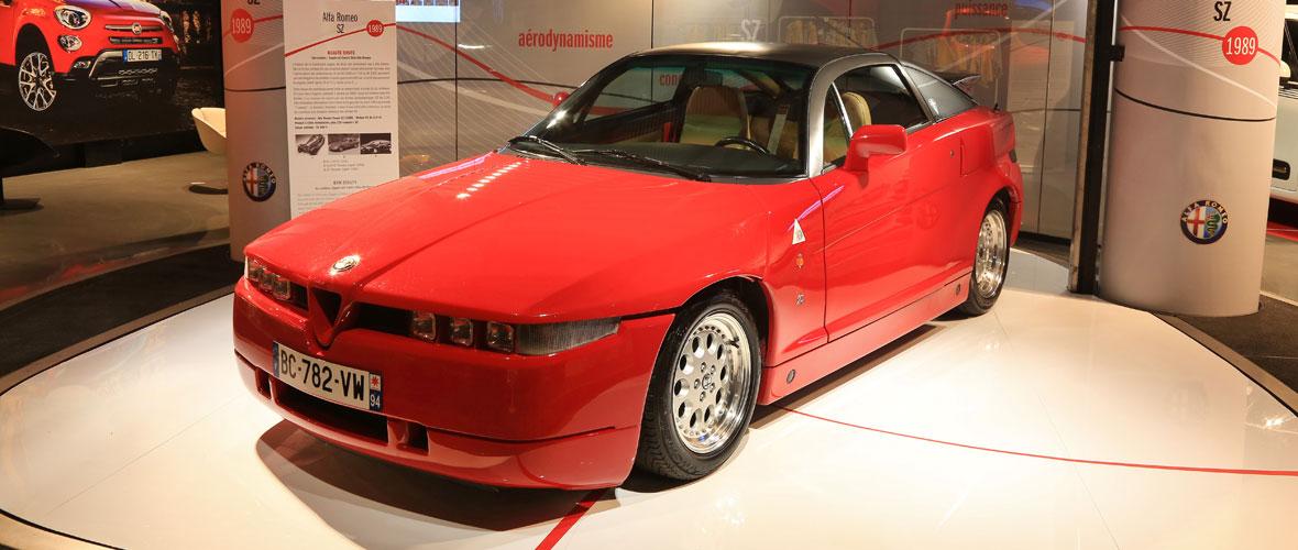 Rencontre autour de l'Alfa Romeo SZ Zagato