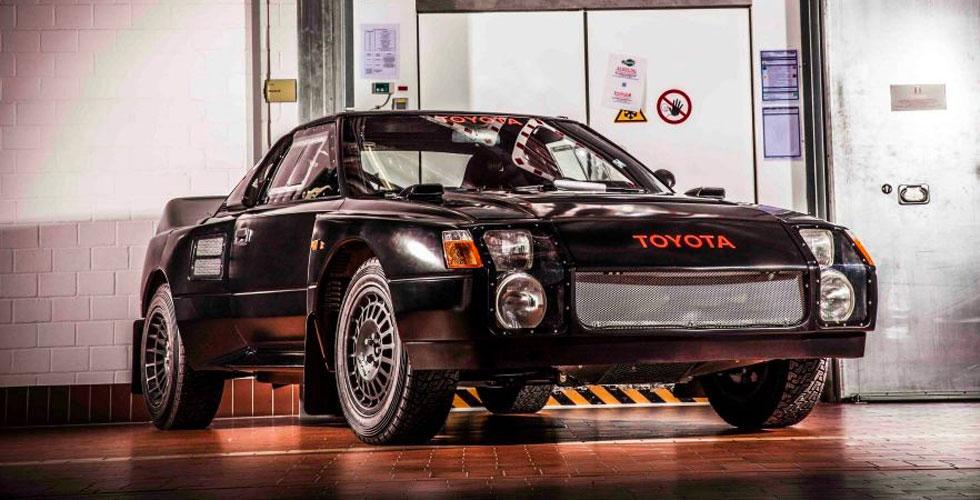 Toyota 222D, la Groupe S interdite !