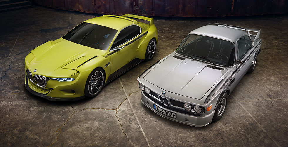 Une bonne dose de talent autour de la BMW 3.0 CSL Hommage