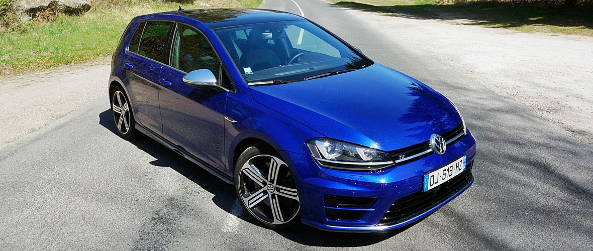 Essai Volkswagen Golf R : R comme rage !