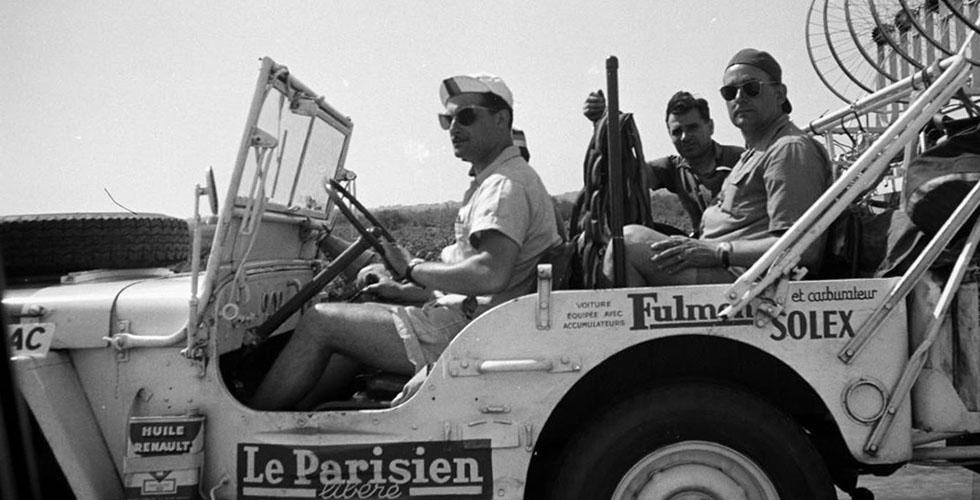 Les Jeep du Tour de France
