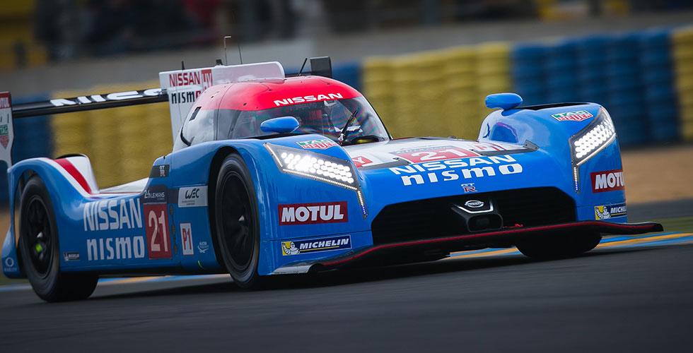Une Nissan old-school au Mans