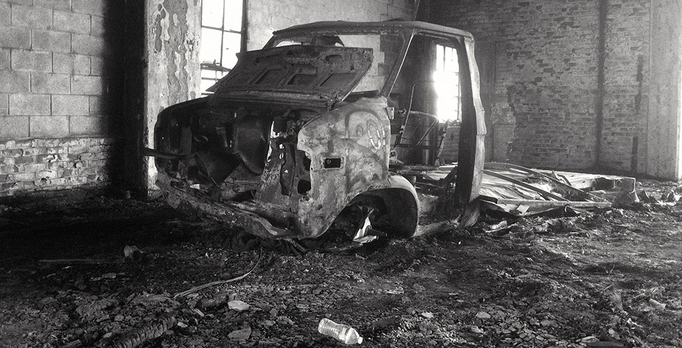 Photos : Packard Plant à Détroit