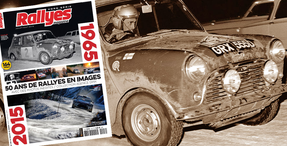 DPPI illustre 50 ans de WRC