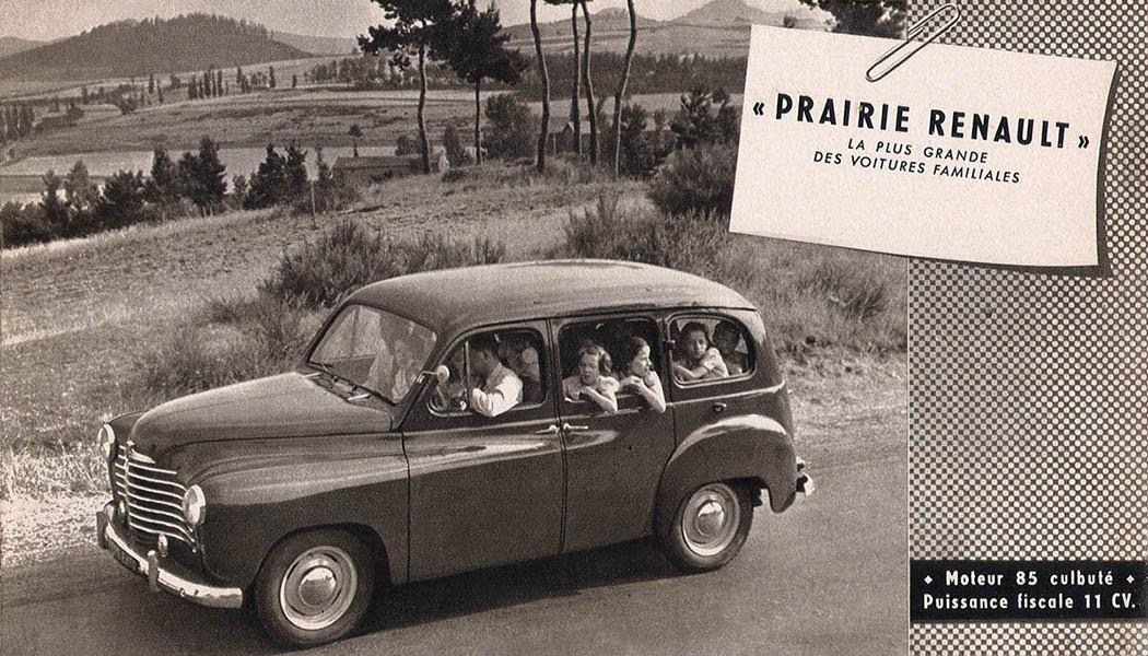 1950, Renault Prairie, le premier SUV ?