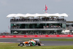 BRDC Silverstone - Adrian Sutil (GER) Sahara Force India