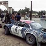 Alpine Renault A110 - Bernard Darniche : Alain Mahe- Rallye du Maroc 1973 - 01