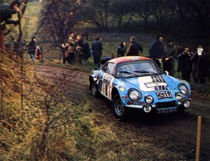 Alpine Renault A110 - Jean-Pierre Nicolas - RAC Rally 1973 - 01