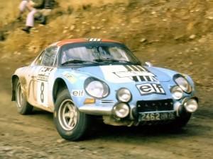 Alpine Renault A110 - Jean-Pierre Nicolas - RAC Rally 1973 - 02