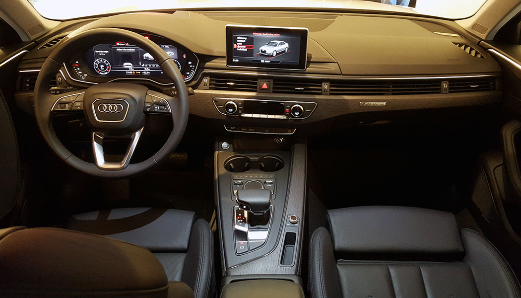 Contact audi a4 for Interieur audi a4