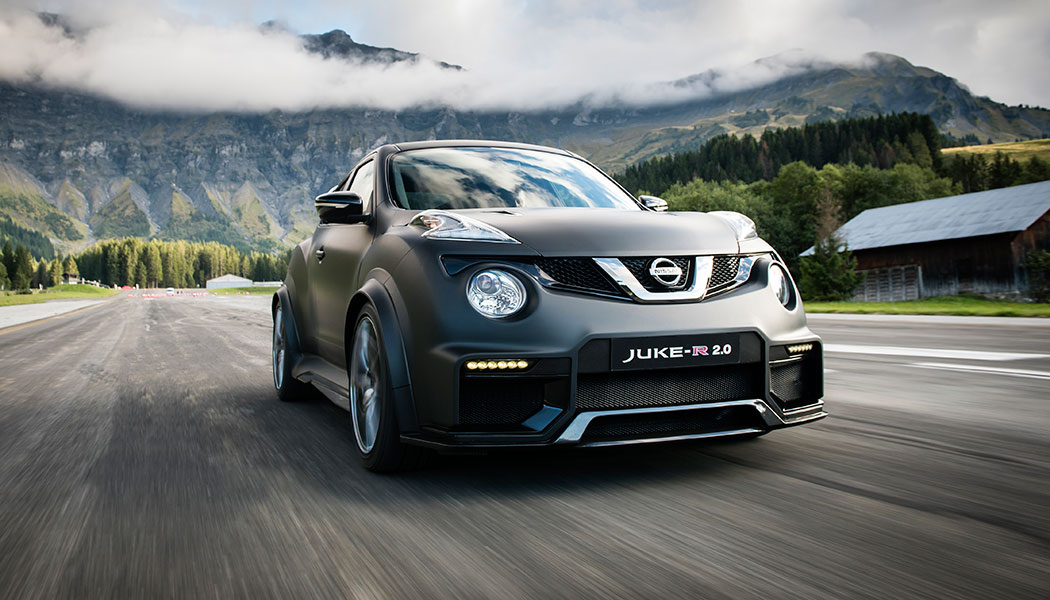 Essai Nissan Juke-R 2.0 : une folie