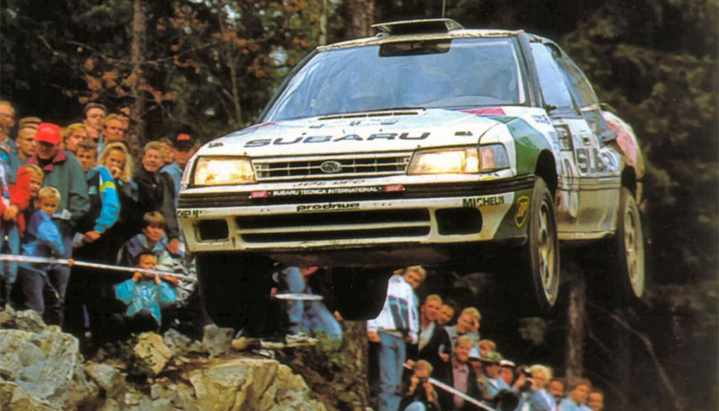 Colin McRae, héros du Rallye des 1000 Lacs 1992