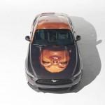 Ford Mustang ArtCar Thomas Lelu