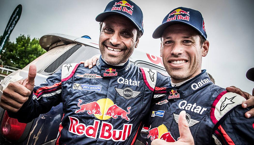 Nasser Al Attiyah & Matthieu Baumel : le coup de trois