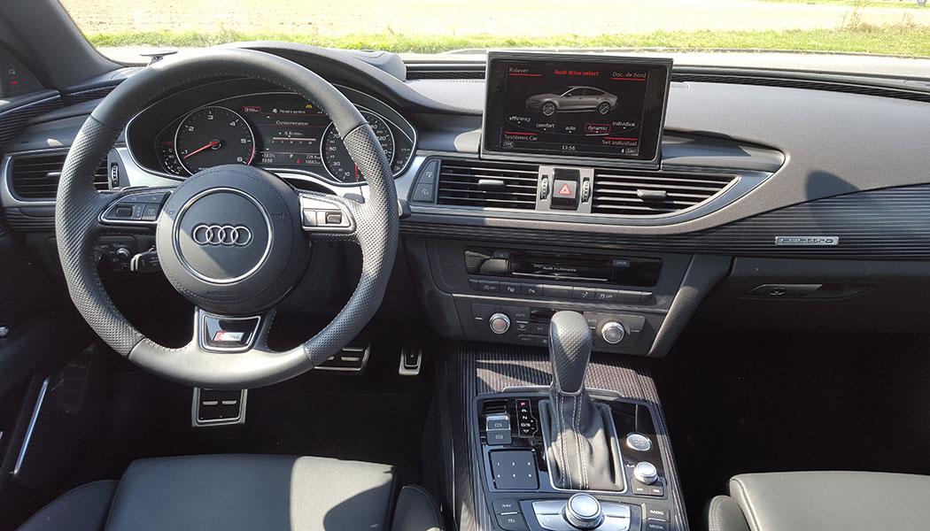 [Ludogasl] Laguna III.2 2.0 dCi 130 Estate GT4 control - Page 2 Audi-a7-sportback-tableau-de-bord