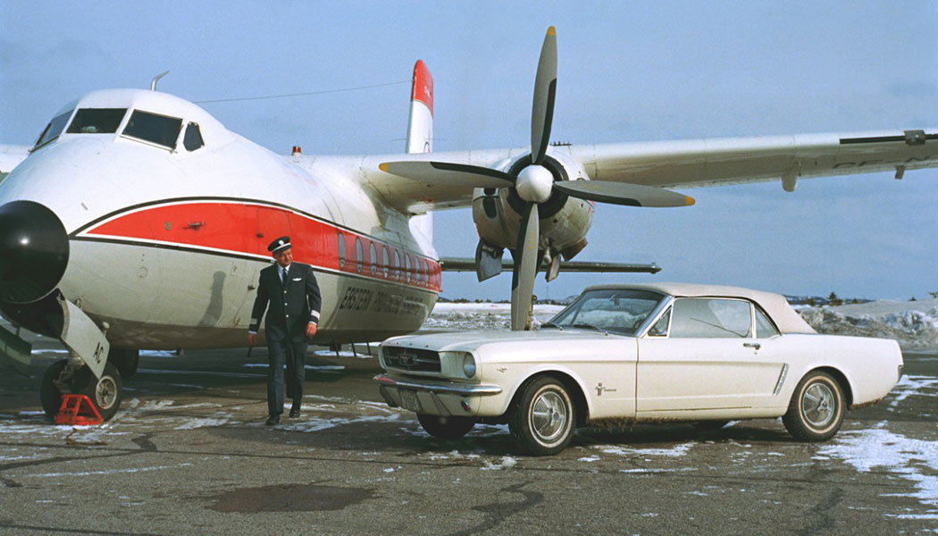 Où est passée la première Mustang ?