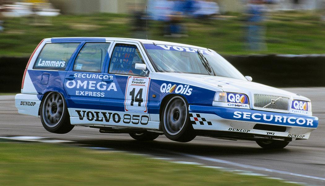Volvo 850 : le break de circuit