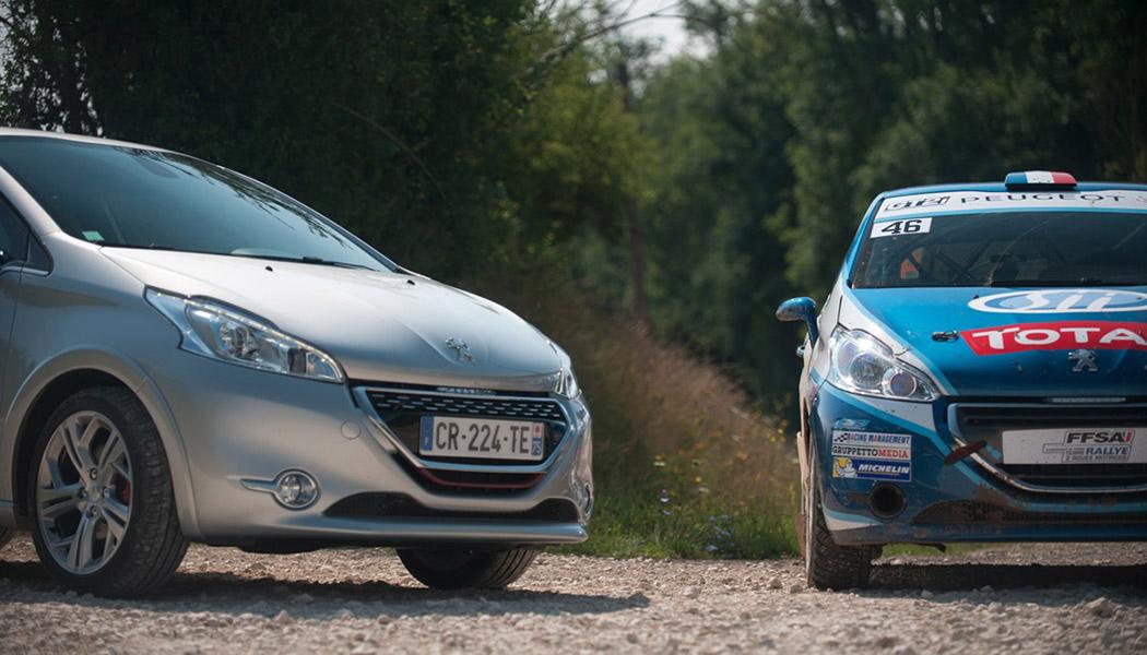 Peugeot 208 GTI vs Peugeot 208 R2 : jumelles de caractères