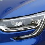 """Renault Megane GT 2016 - Photo détail, phare avant """"en C"""""""