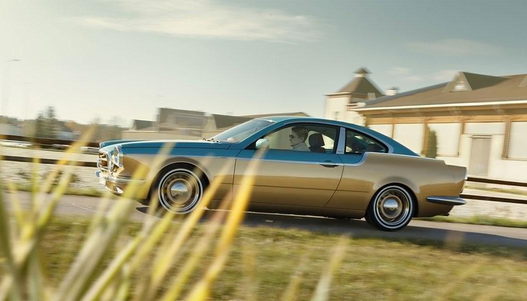 Une BMW Série 3 revue par Bilenkin