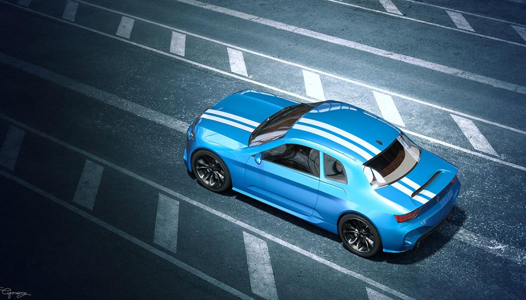 Concept Ciprian  : Renault 8 Gordini
