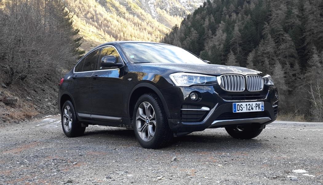 Essai BMW X4: merci xDrive