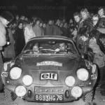 Rallye Monte-Carlo 1973 - Alpine A110 - Jean-Claude Andruet & Biche Espinos