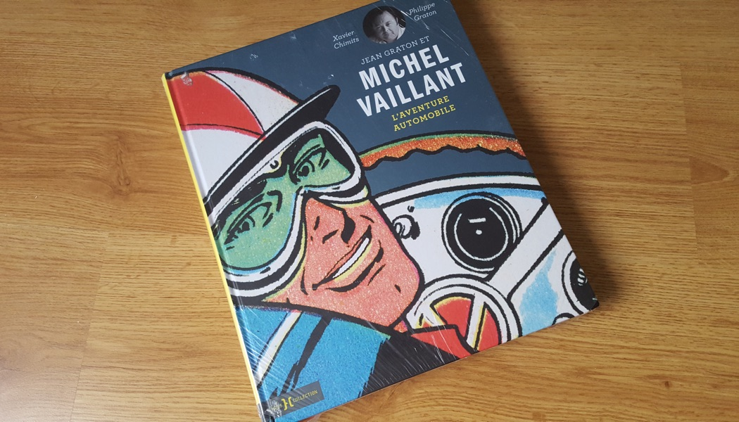 Qui a gagné le livre officiel Michel Vaillant ?