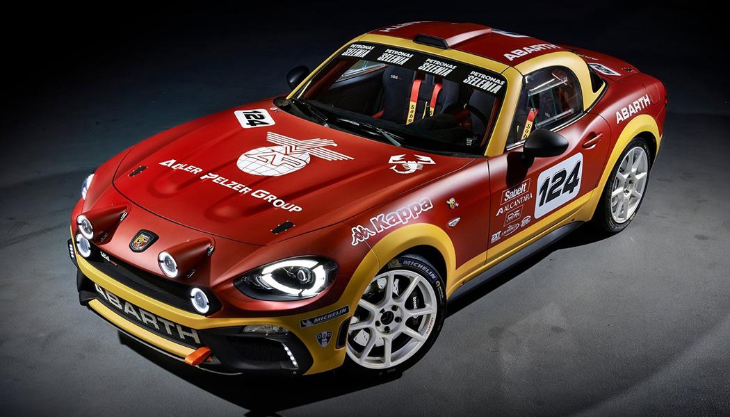 Abarth 124 rally : Fiat de retour à la compétition
