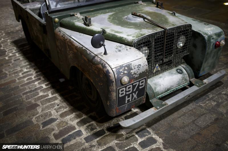 Land Rover Frankenstein
