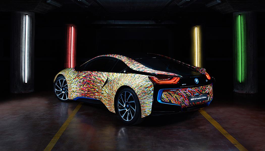 BMW Italia et Garage Italia Customs créent la première i8 Art Car