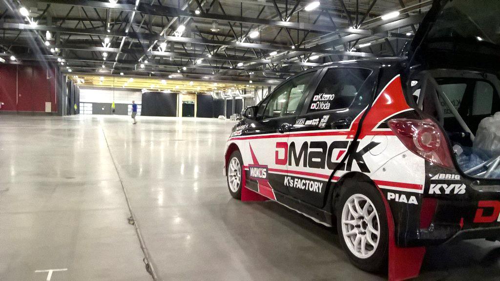 Le WRC avec la plus petite auto engagée