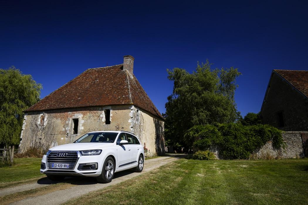 Essai Audi Q7 e-tron quattro: juilletiste