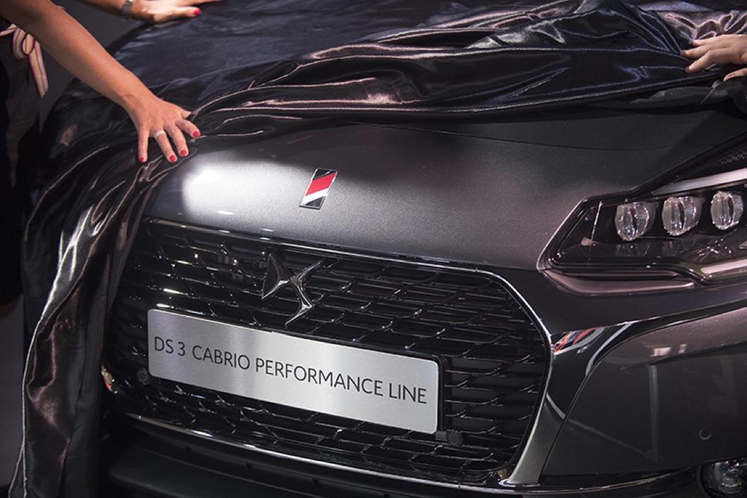 Carmin, Blanc, Gold… DS présente Performance Line