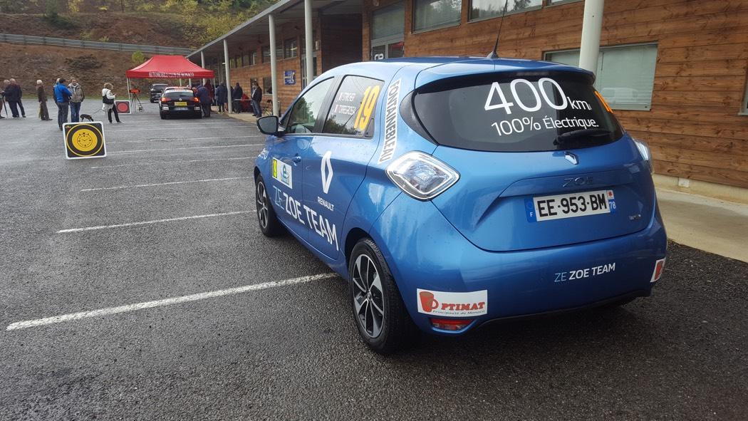 Encore un podium électrique pour Renault!