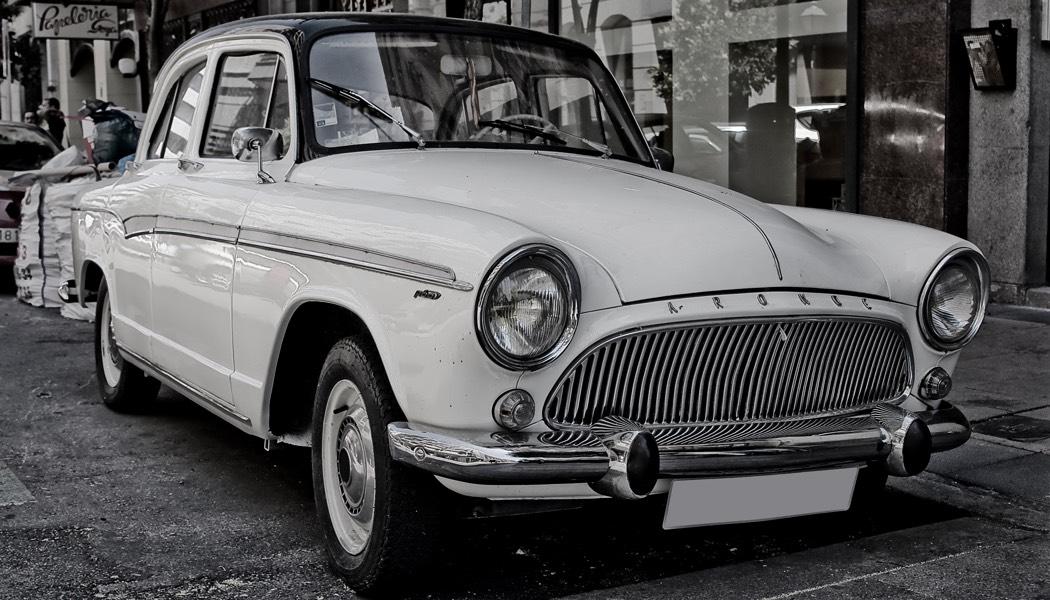 Auto Vintage: Simca Aronde P60