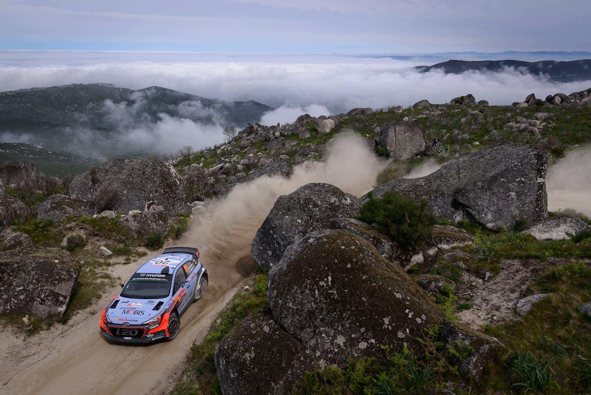 Les plus belles photos de la saison 2016 du WRC