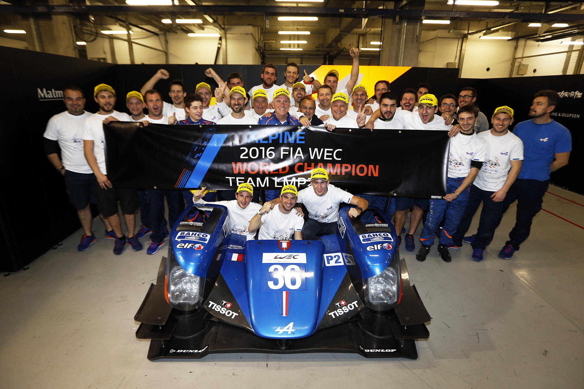 Signatech-Alpine remporte le Trophée LMP2 FIA WEC 2016