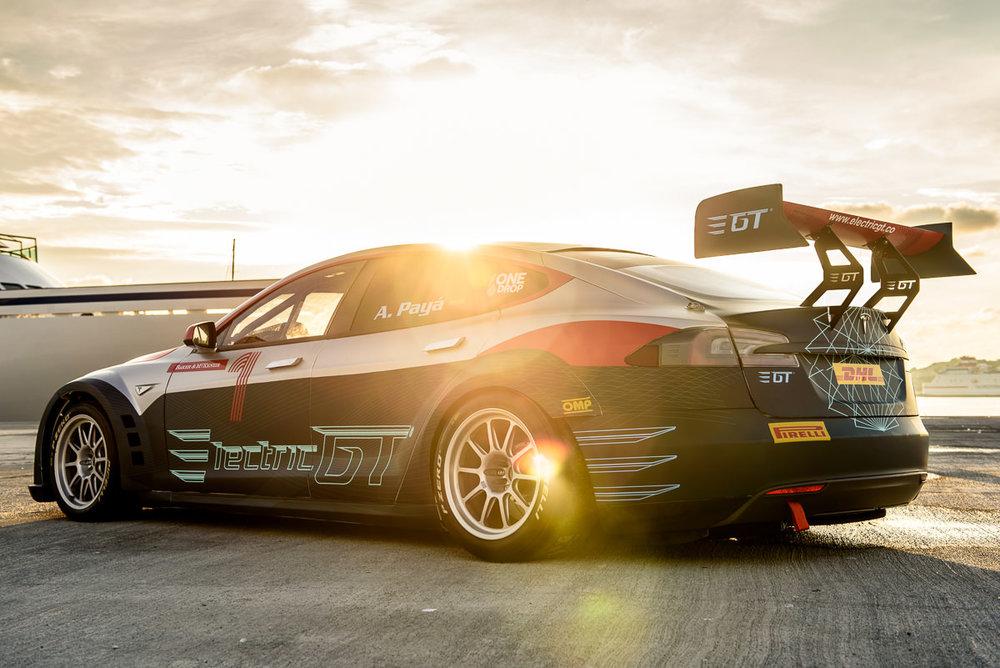 Tesla et l'Electric GT Championship arrivent en 2017