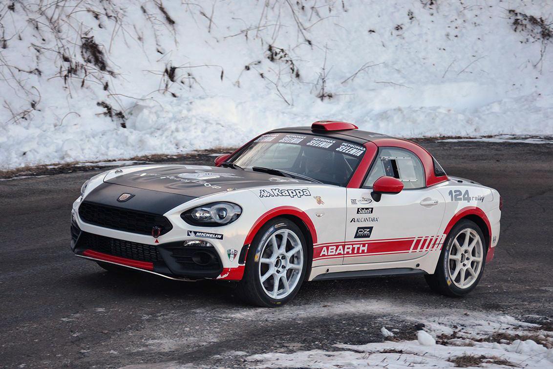 Abarth remporte le Rallye Monte-Carlo. Chiche ?