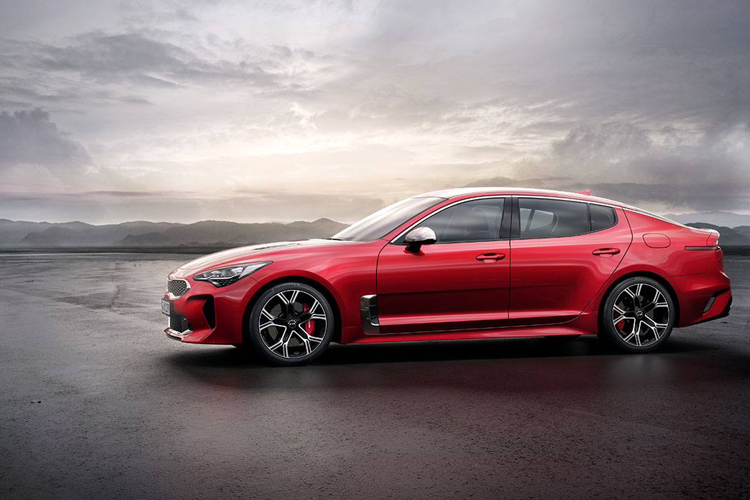 Contact : Kia Stinger