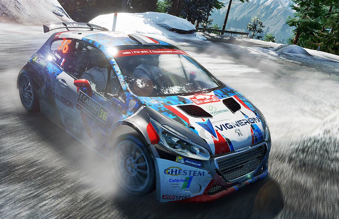 WRC6: le casque et le canapé